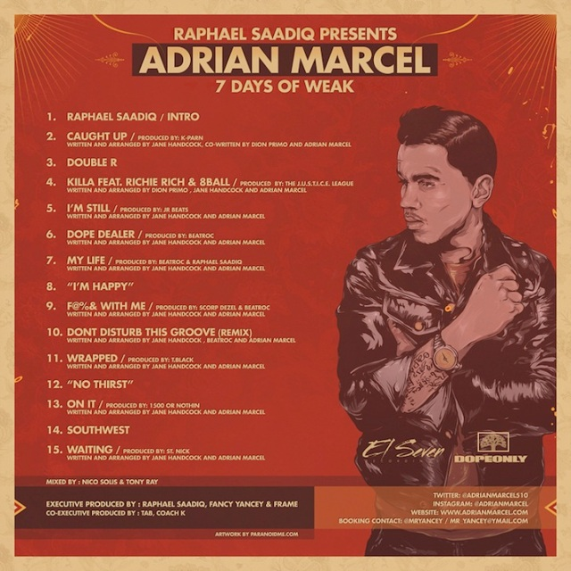 adrian-marcel-saadiq-7-days-of-weak-tracks
